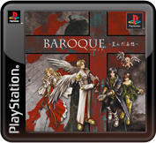 Baroque PlayStation 3 Front Cover