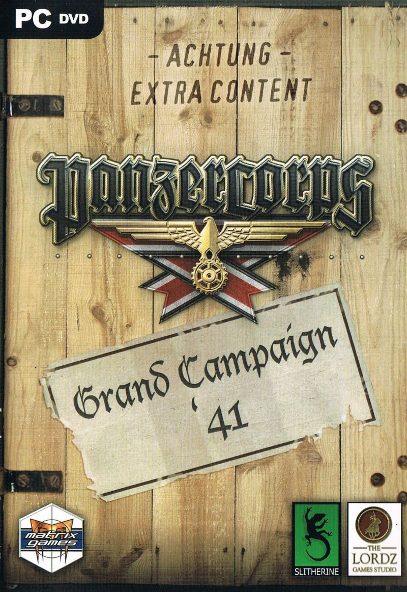 Panzer Corps: Grand Campaign '41