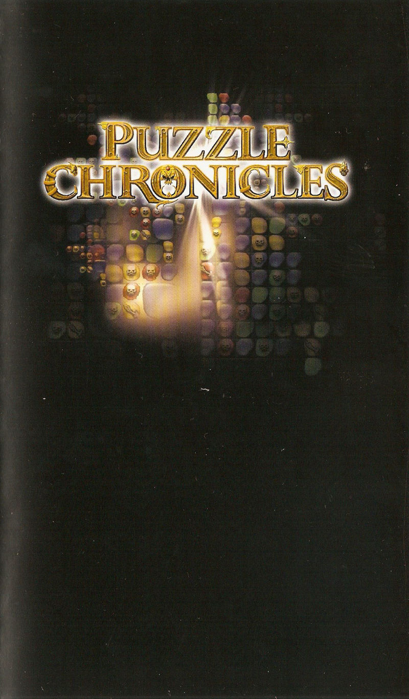 Puzzle Chronicles PSP Inside Cover Right