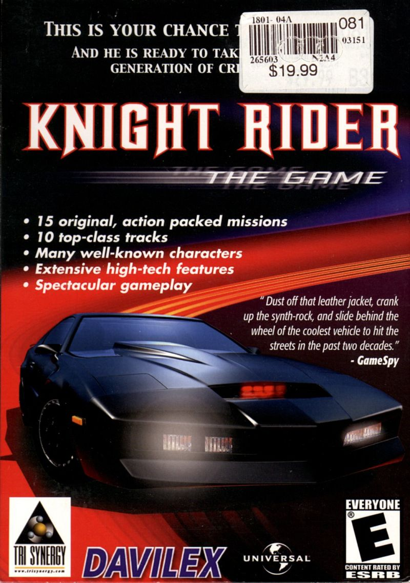 Knight Rider: The Game Windows Front Cover