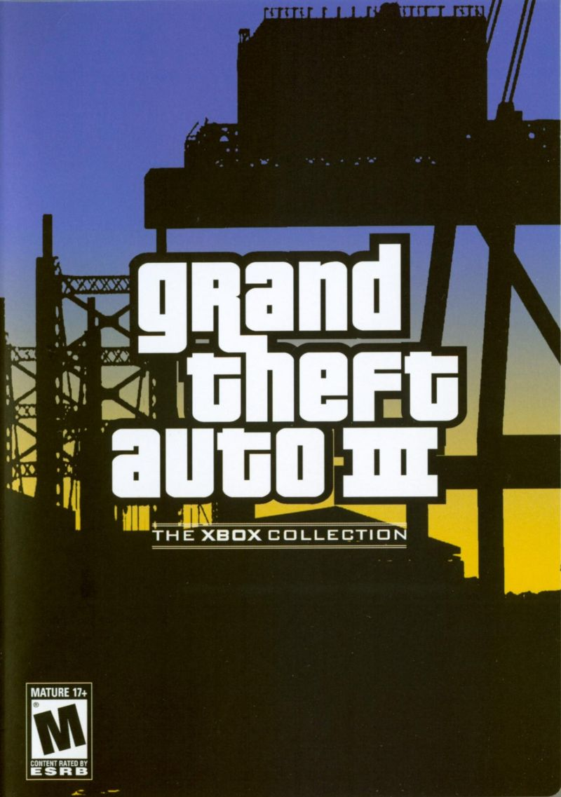 Rockstar Games Double Pack: Grand Theft Auto Xbox Other Grand Theft Auto III Keep Case - Front