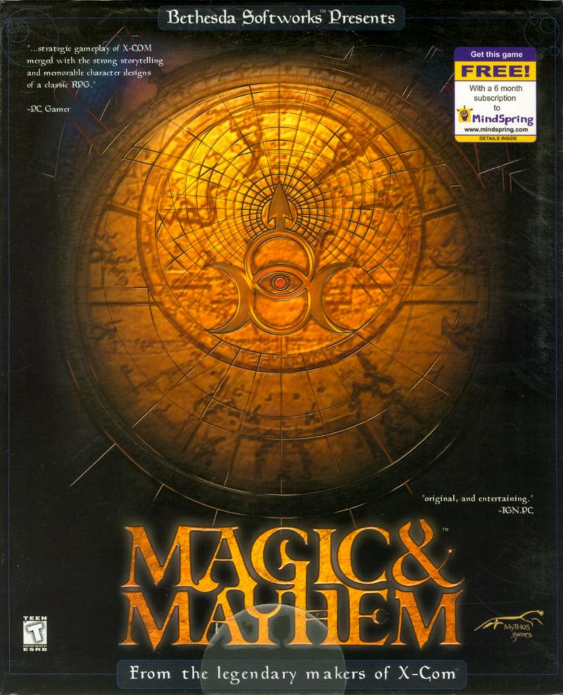 Magic & Mayhem Windows Front Cover