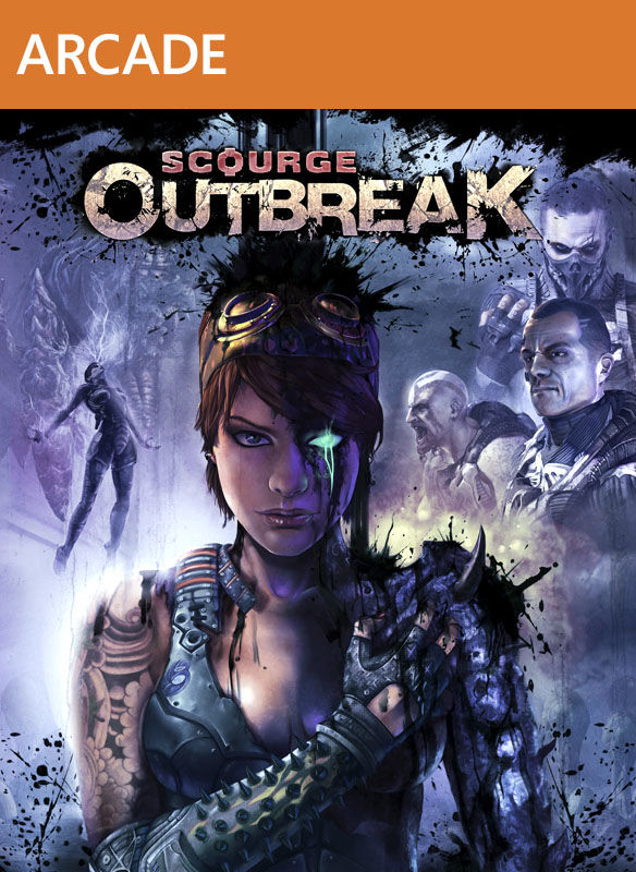 Scourge: Outbreak Xbox 360 Front Cover