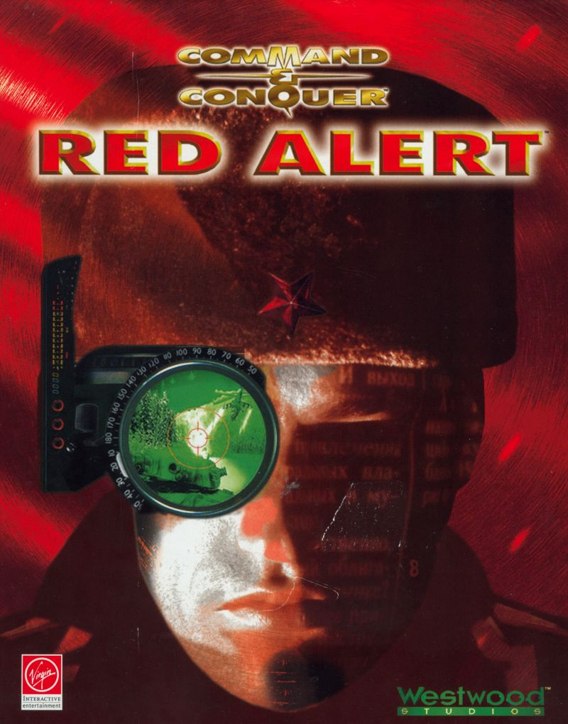 Command Amp Conquer Red Alert Dos Front Cover