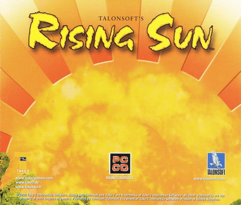 Rising Sun Windows Other Jewel Case Back