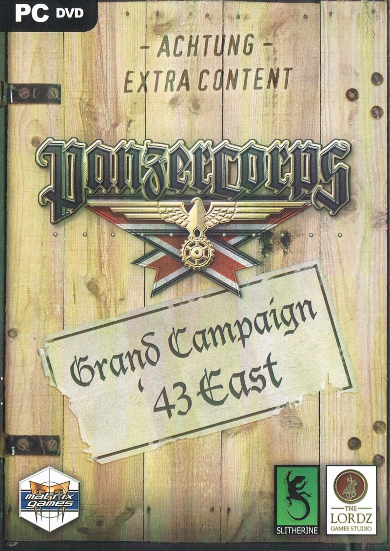 Panzer Corps: Grand Campaign '43 East Windows Front Cover