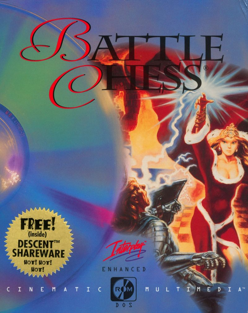 Battle Chess: Enhanced CD-ROM DOS Front Cover