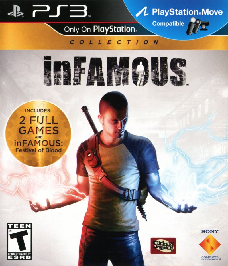 inFAMOUS Collection (2012) PlayStation 3 box cover art ...