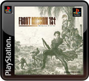 Front Mission 1st PlayStation 3 Front Cover