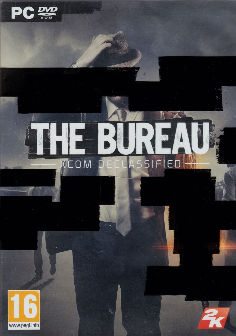 The Bureau: XCOM Declassified Windows Front Cover