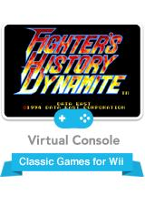 Fighter's History Dynamite Wii Front Cover