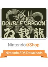 Double Dragon Nintendo 3DS Front Cover
