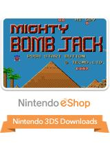 Mighty Bombjack Nintendo 3DS Front Cover