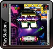Arkanoid Returns PlayStation 3 Front Cover