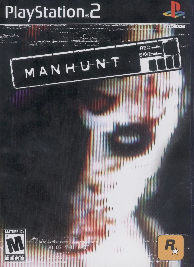 Manhunt PlayStation 2 Front Cover