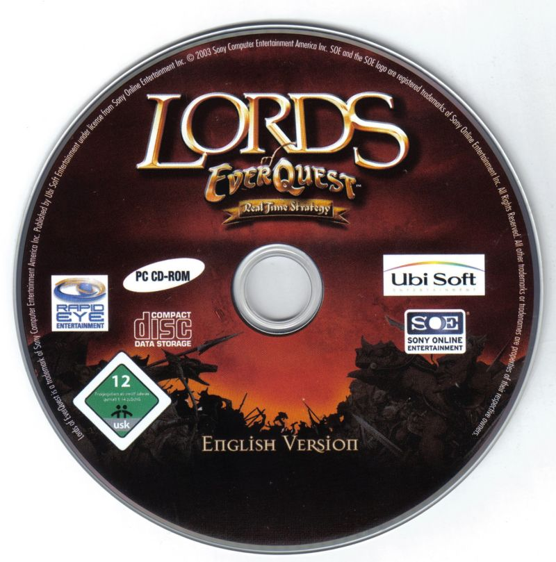 Lords of EverQuest Windows Media