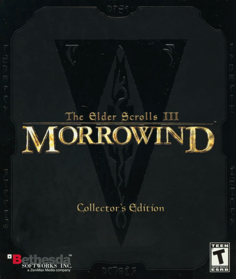 The Elder Scrolls III: Morrowind (Collector's Edition) Windows Front Cover