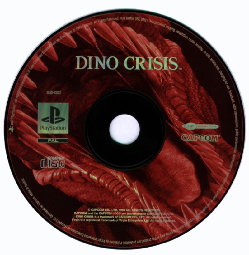 Dino Crisis PlayStation Media
