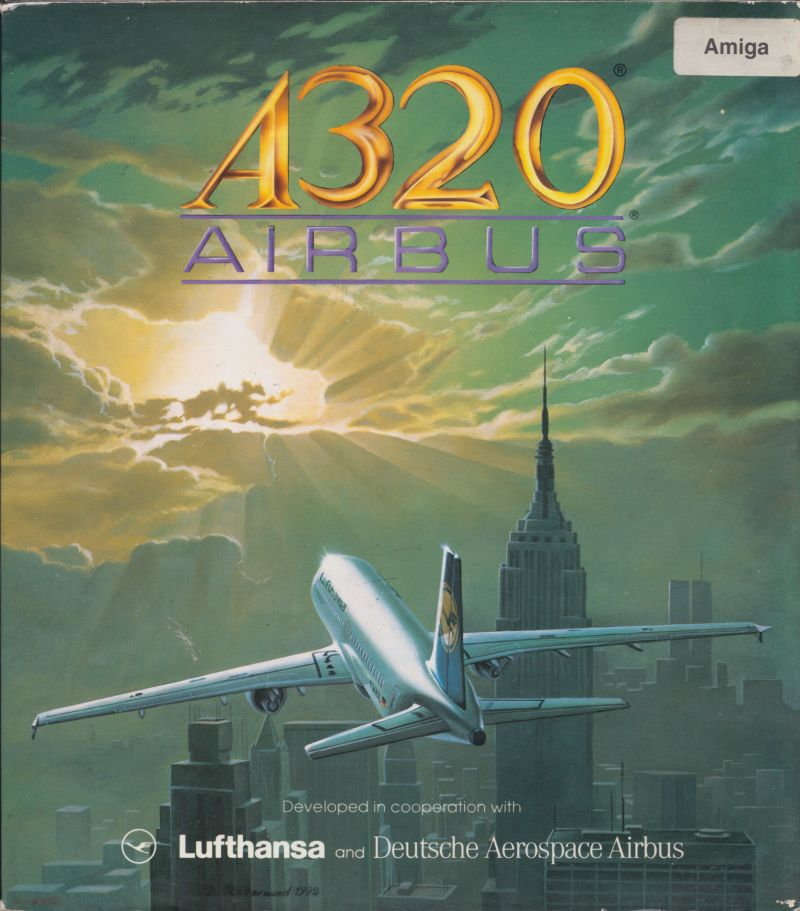 A320 Airbus: Edition USA Amiga Front Cover