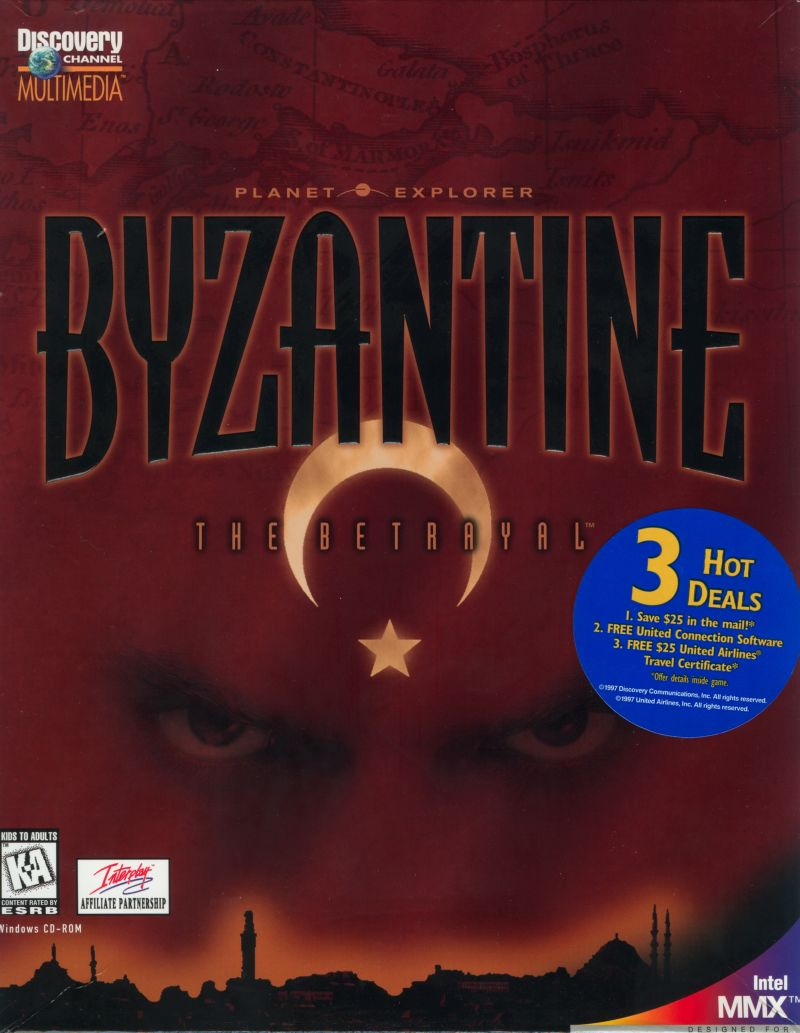Byzantine: The Betrayal Windows Front Cover
