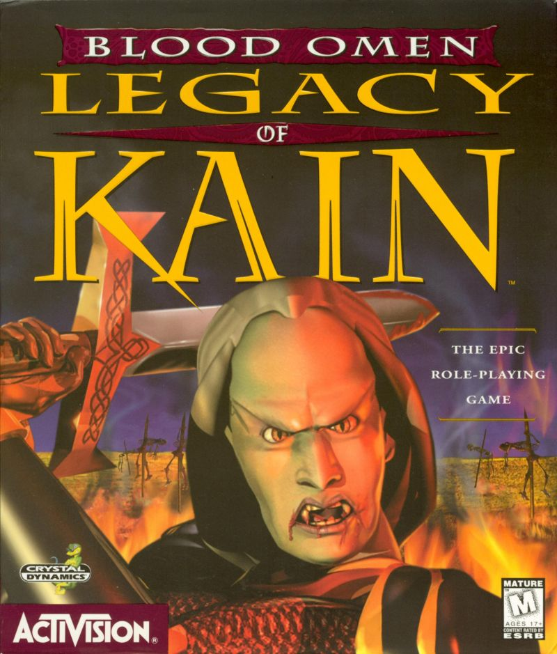 Blood Omen: Legacy of Kain Windows Front Cover