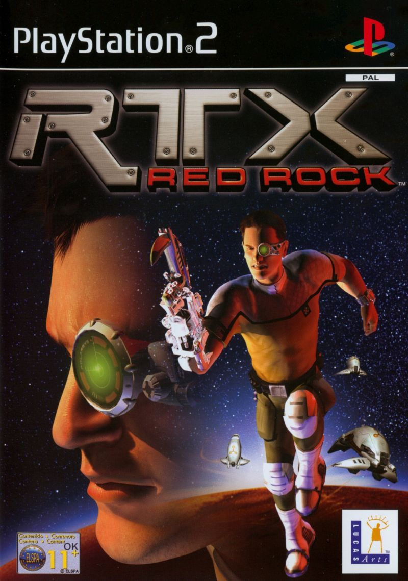 RTX: Red Rock PlayStation 2 Front Cover
