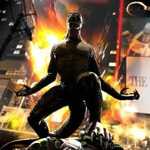 The Amazing Spider-Man: Lizard Rampage Pack PlayStation 3 Front Cover