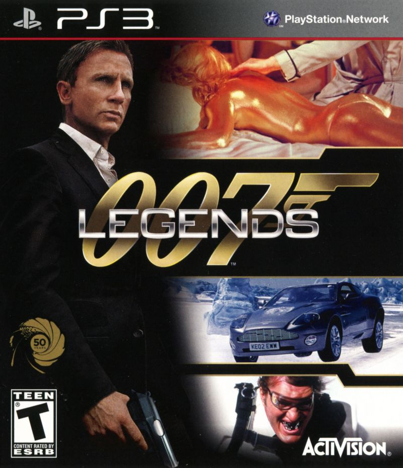 New 007 Game For Ps3 : Legends for playstation mobygames