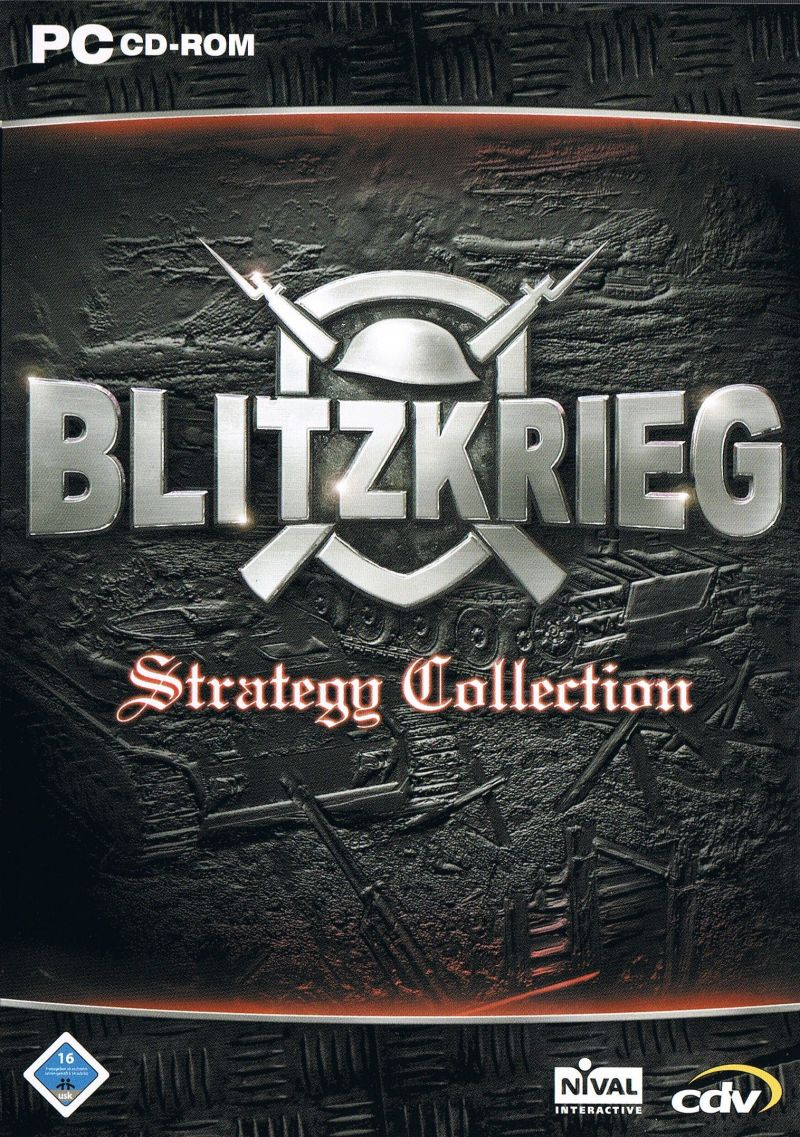 Blitzkrieg: Strategy Collection Windows Front Cover