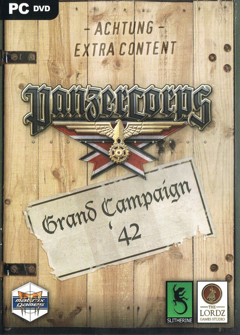 Panzer Corps: Grand Campaign '42 Windows Front Cover