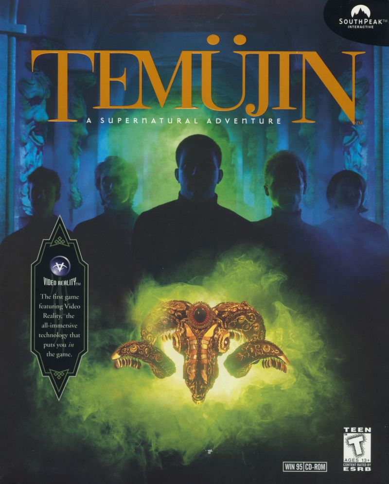 Temüjin Windows Front Cover