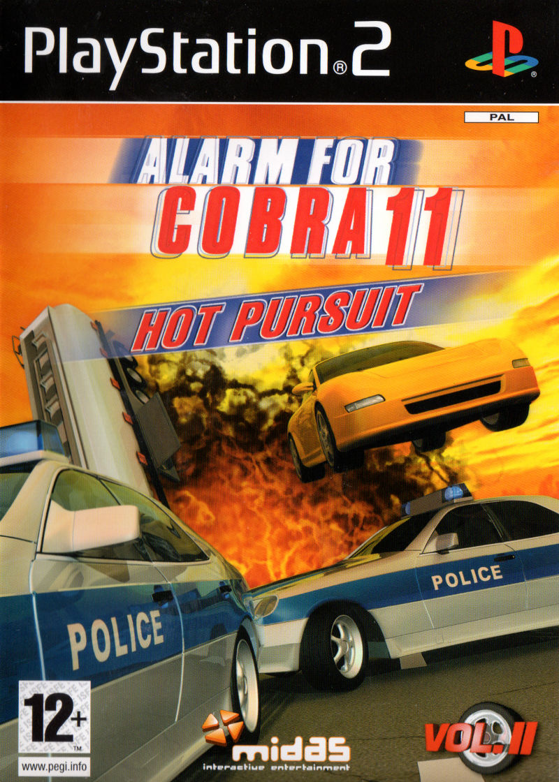 Alarm for Cobra 11: Hot Pursuit PlayStation 2 Front Cover