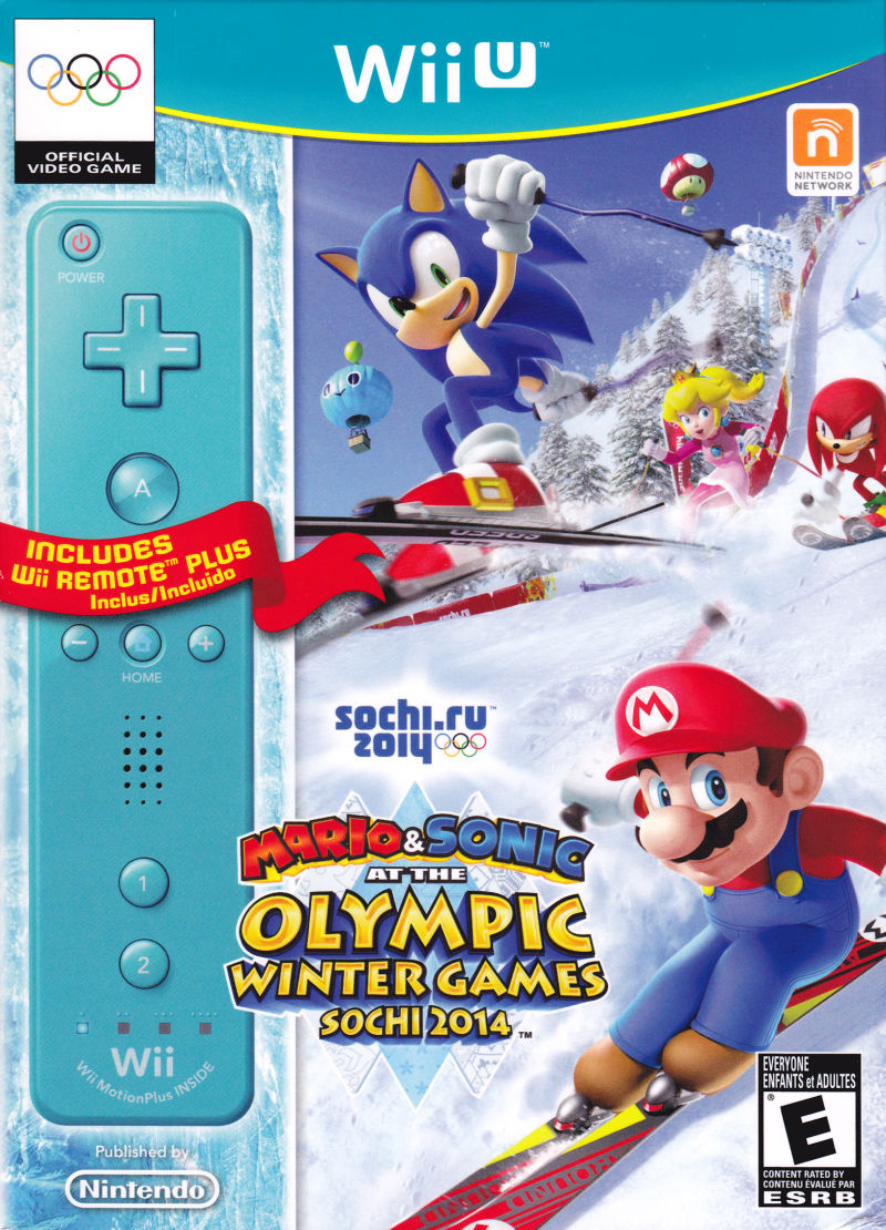Wii U Games 2013 : Mario sonic at the olympic winter games sochi for