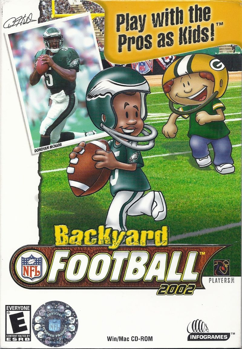 Backyard Football 2002 Macintosh Front Cover