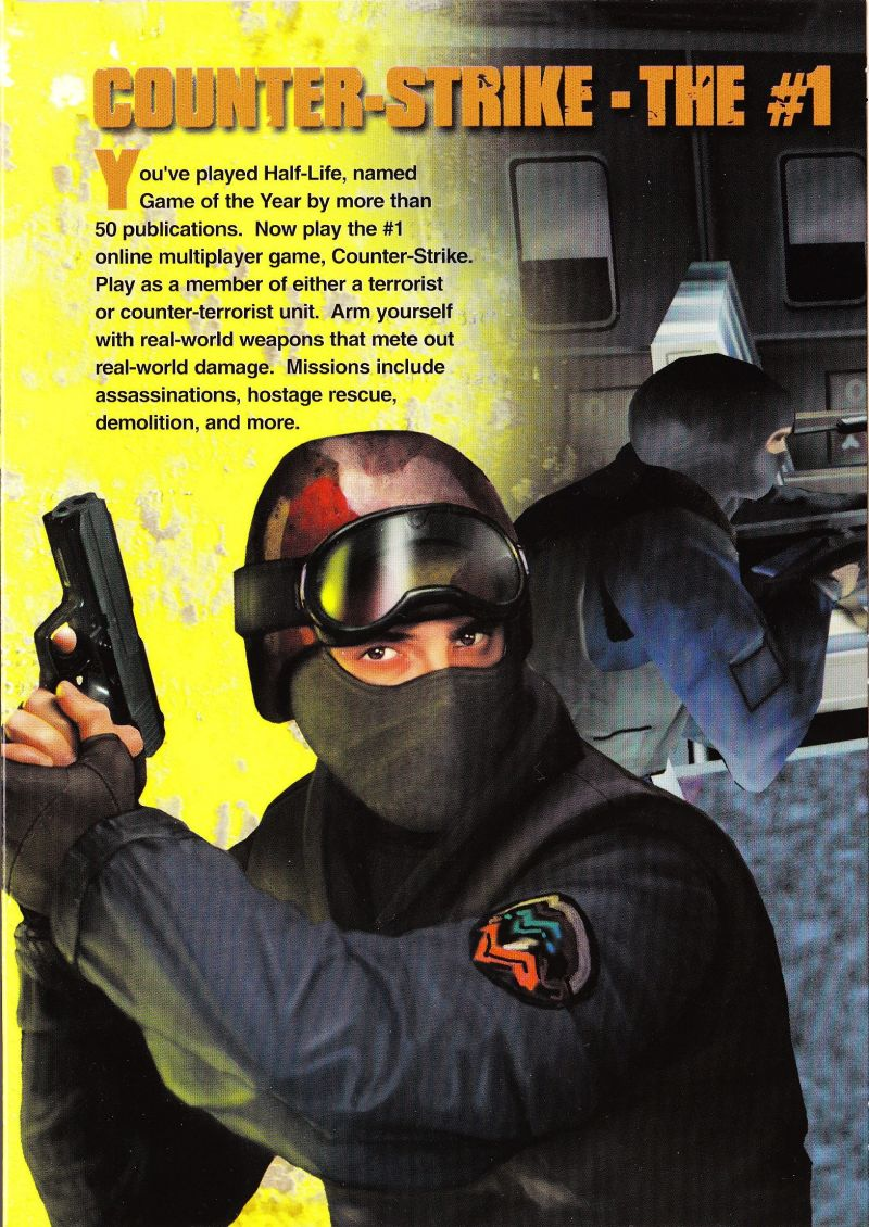 Half Life Counter Strike 2013 Linux Box Cover Art Mobygames