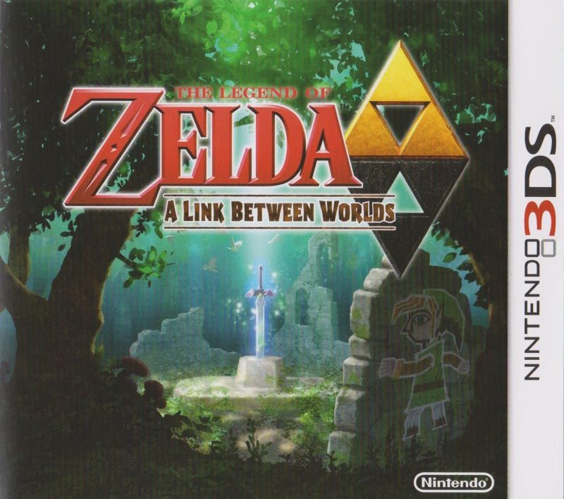 A Link between worlds game box