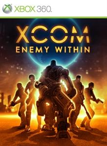 XCOM: Enemy Within Xbox 360 Front Cover