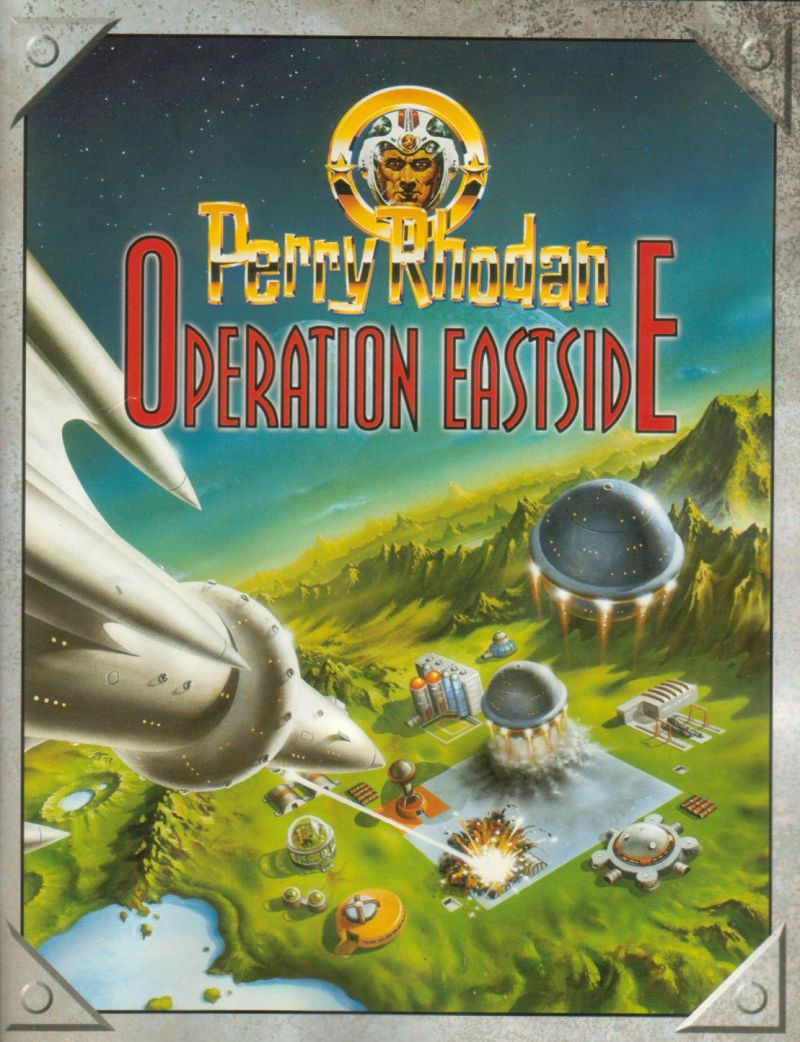 Perry Rhodan: Operation Eastside Windows Front Cover