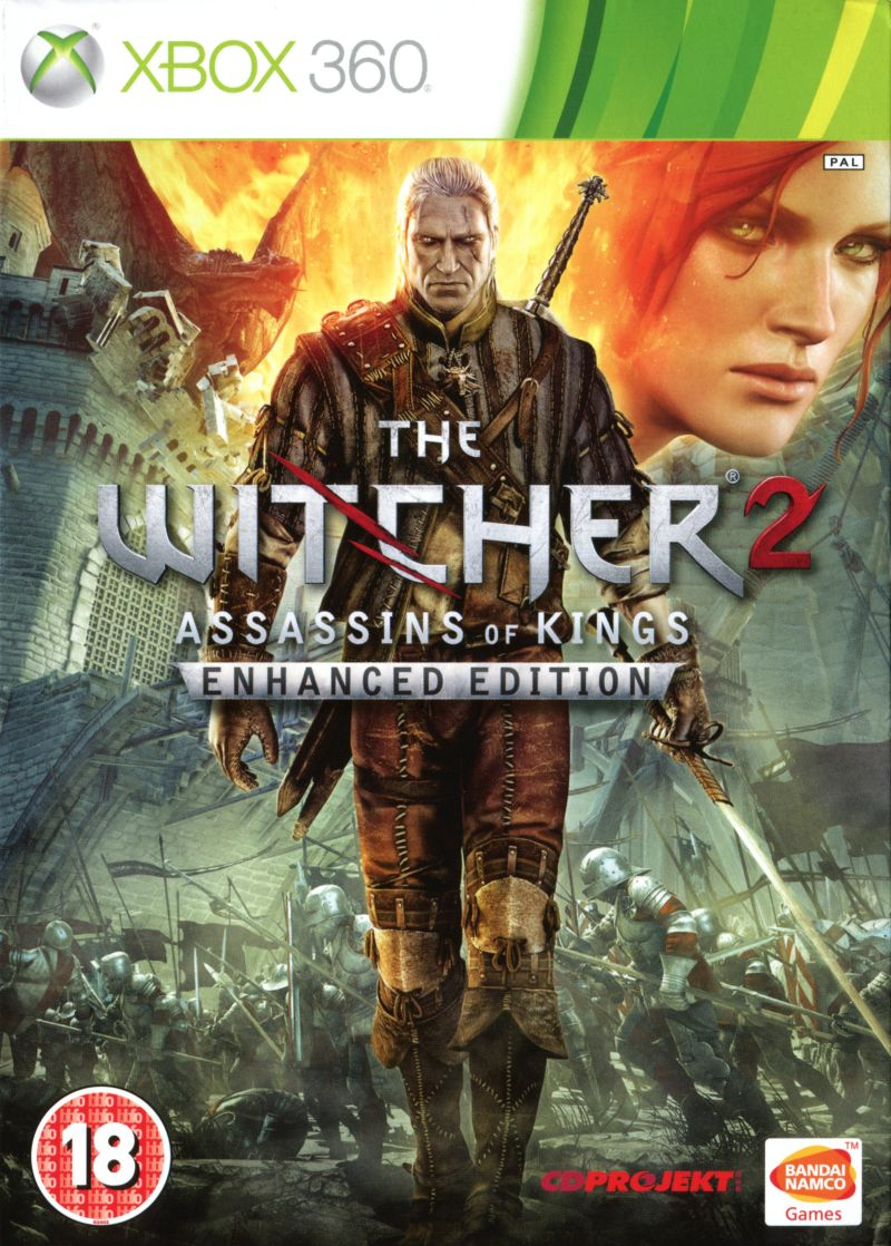 Witcher Book Cover Art : The witcher assassins of kings enhanced edition