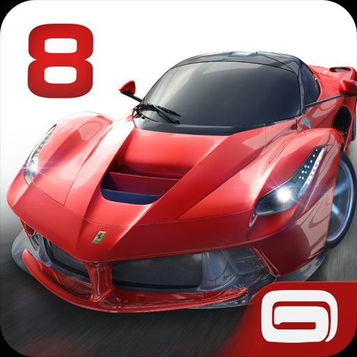Asphalt 8: Airborne Android Front Cover initial release