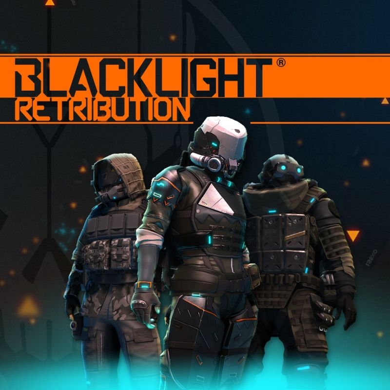 Blacklight: Retribution PlayStation 4 Front Cover