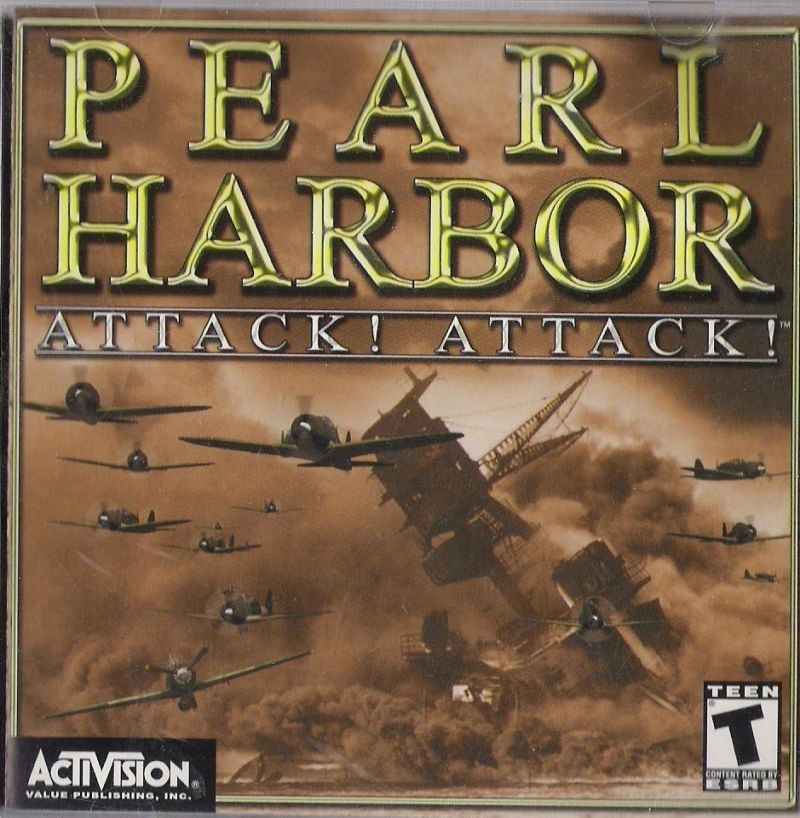 Pearl Harbor: Attack! Attack! Windows Front Cover