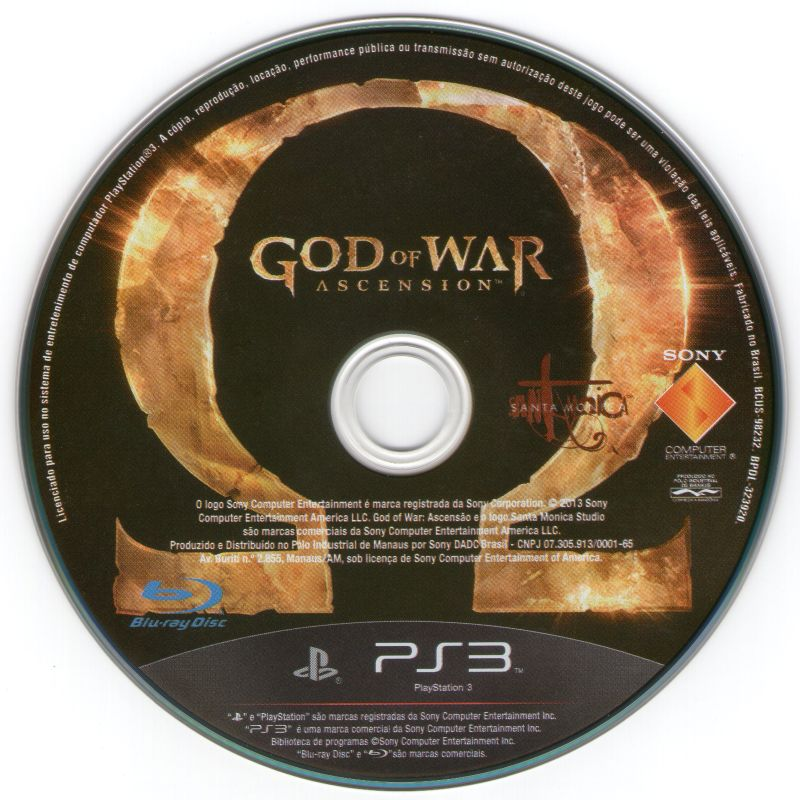 God of War: Ascension PlayStation 3 Media