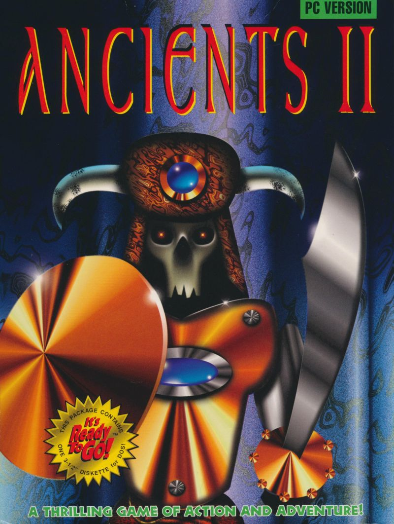 Ancients II: Approaching Evil DOS Front Cover