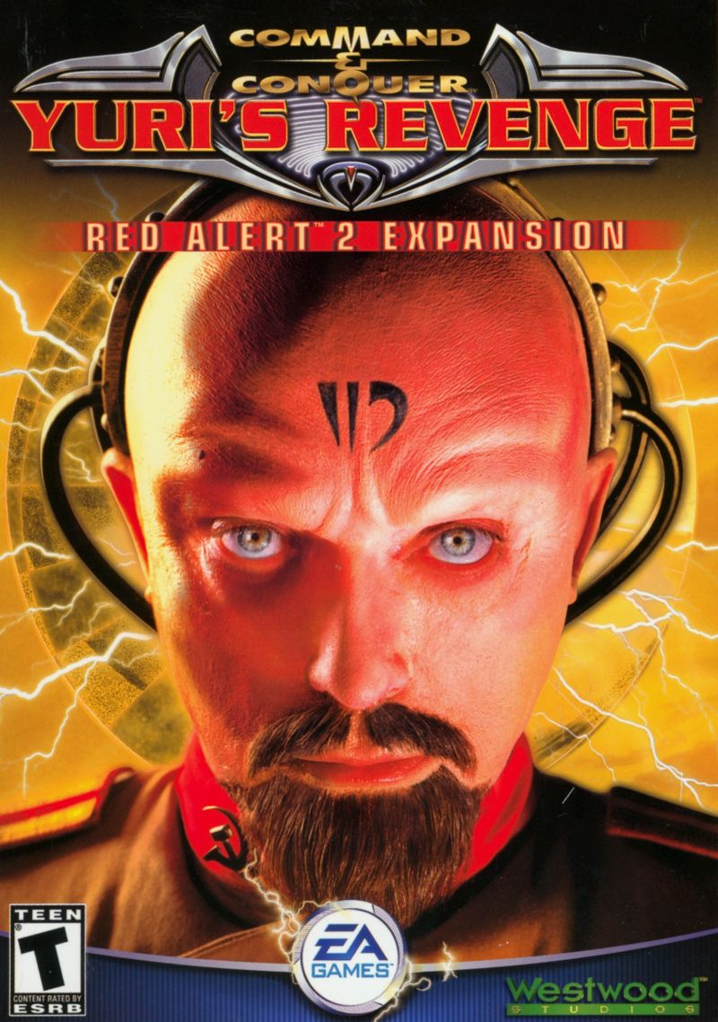 Command & Conquer: Yuri's Revenge Windows Front Cover