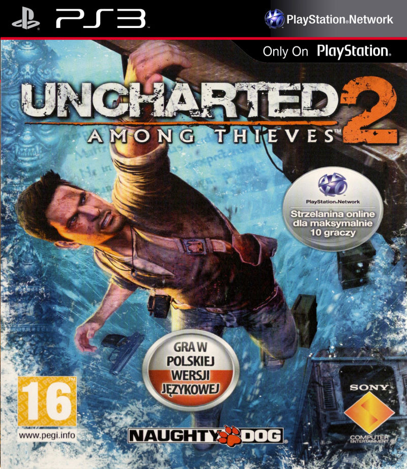 Uncharted 2 Among Thieves 2009 Box Cover Art Mobygames