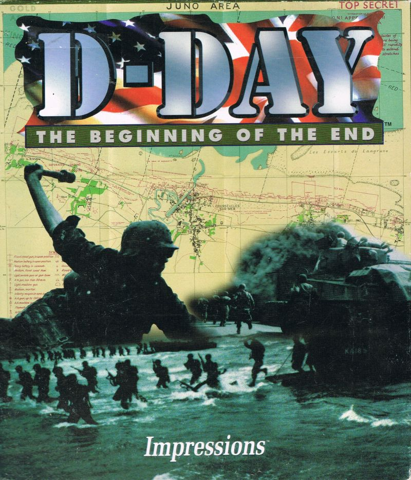 D-Day: The Beginning of the End DOS Front Cover