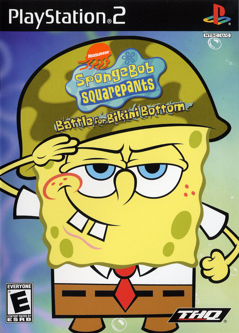 spongebob squarepants battle for bottom for gamecube 2003