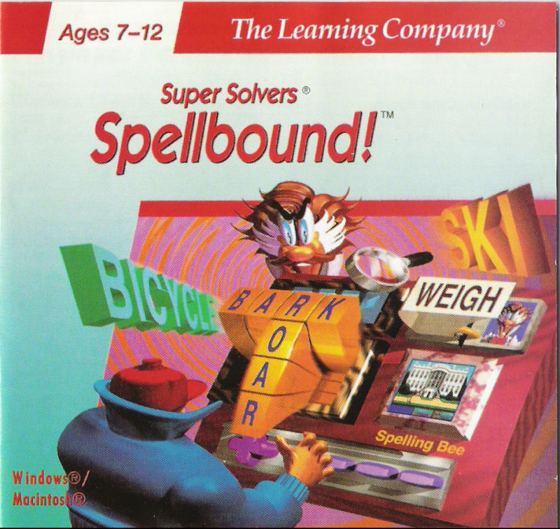 Super Solvers: Spellbound! Macintosh Front Cover
