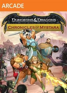 Dungeons & Dragons: Chronicles of Mystara Xbox 360 Front Cover